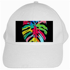 Leaf Tropical Colors Nature Leaves White Cap by Alisyart