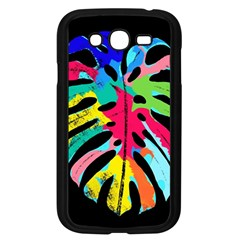 Leaf Tropical Colors Nature Leaves Samsung Galaxy Grand Duos I9082 Case (black)