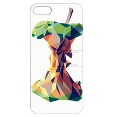 Illustrator Geometric Apple Apple Iphone 5 Hardshell Case With Stand