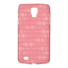 Background Polka Dots Pink Samsung Galaxy S4 Active (i9295) Hardshell Case