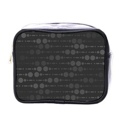 Background Polka Dots Mini Toiletries Bag (one Side) by Mariart