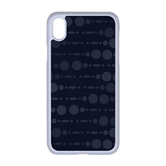 Background Polka Dots Apple Iphone Xr Seamless Case (white)
