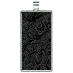 Black Rectangle Wallpaper Grey Rectangle Necklace