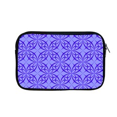 Blue Curved Line Apple Macbook Pro 13  Zipper Case by Mariart