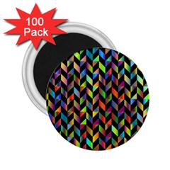 Abstract Geometric 2 25  Magnets (100 Pack)  by Mariart