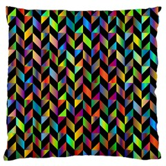 Abstract Geometric Large Cushion Case (two Sides)