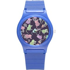 Animals Mouse Round Plastic Sport Watch (s)