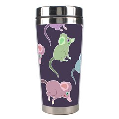 Animals Mouse Stainless Steel Travel Tumblers by Mariart