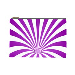 Background Whirl Wallpaper Cosmetic Bag (large)