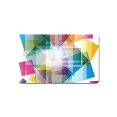 Abstract Background Magnet (name Card)