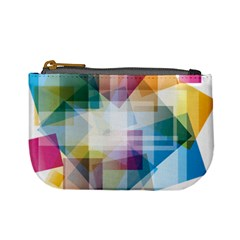 Abstract Background Mini Coin Purse
