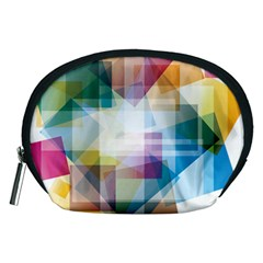 Abstract Background Accessory Pouch (medium) by Mariart