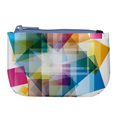 Abstract Background Large Coin Purse