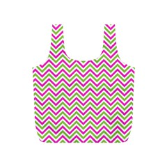 Abstract Chevron Full Print Recycle Bag (s)