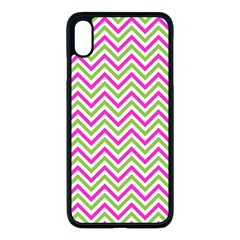 Abstract Chevron Apple Iphone Xs Max Seamless Case (black)
