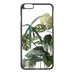 Botanical Illustration Palm Leaf Apple Iphone 6 Plus/6s Plus Black Enamel Case by Mariart