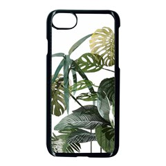 Botanical Illustration Palm Leaf Apple Iphone 8 Seamless Case (black) by Mariart
