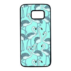 Bird Flemish Picture Samsung Galaxy S7 Black Seamless Case by Mariart