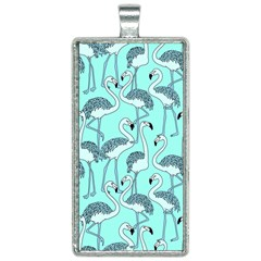 Bird Flemish Picture Rectangle Necklace by Mariart