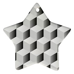 Cube Isometric Ornament (star)