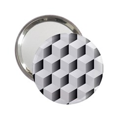 Cube Isometric 2 25  Handbag Mirrors