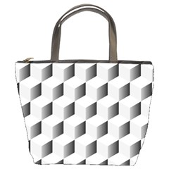 Cube Isometric Bucket Bag