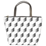 Cube Isometric Bucket Bag Front