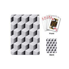 Cube Isometric Playing Cards (mini) by Mariart