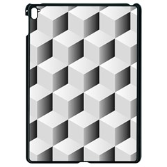 Cube Isometric Apple Ipad Pro 9 7   Black Seamless Case by Mariart