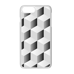 Cube Isometric Apple Iphone 8 Plus Seamless Case (white)