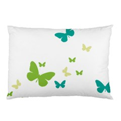 Butterfly Pillow Case (two Sides)