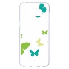 Butterfly Samsung Galaxy S8 Plus White Seamless Case