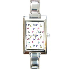 Color Triangle Wallpaper Rectangle Italian Charm Watch