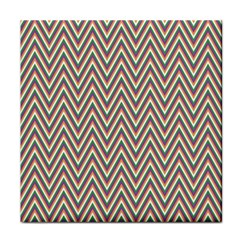 Chevron Retro Pattern Vintage Tile Coasters by Jojostore
