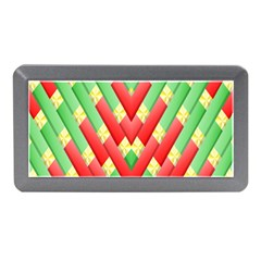 Christmas Geometric Memory Card Reader (mini)