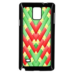 Christmas Geometric Samsung Galaxy Note 4 Case (black)