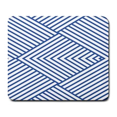 Directional Lines Stripes Movement Large Mousepads by AnjaniArt