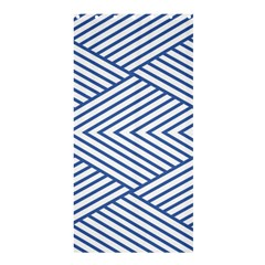 Directional Lines Stripes Movement Shower Curtain 36  X 72  (stall)