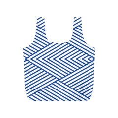 Directional Lines Stripes Movement Full Print Recycle Bag (s)