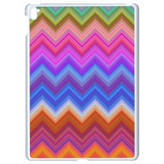 Chevron Zigzag Background Apple Ipad Pro 9 7   White Seamless Case