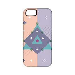 Geometry Figures Apple Iphone 5 Classic Hardshell Case (pc+silicone)
