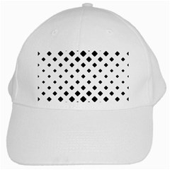Garden Halftone Paving White Cap by AnjaniArt