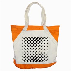 Garden Halftone Paving Accent Tote Bag by AnjaniArt