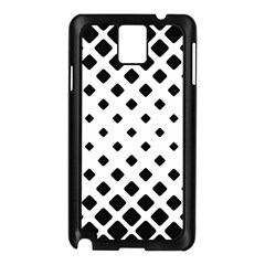 Garden Halftone Paving Samsung Galaxy Note 3 N9005 Case (black) by AnjaniArt