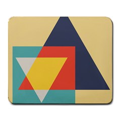 Form Abstract Modern Color Large Mousepads by AnjaniArt