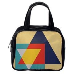 Form Abstract Modern Color Classic Handbag (one Side) by AnjaniArt