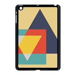Form Abstract Modern Color Apple Ipad Mini Case (black)