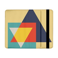 Form Abstract Modern Color Samsung Galaxy Tab Pro 8 4  Flip Case by AnjaniArt
