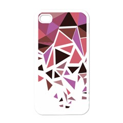 Geometric Elements Apple Iphone 4 Case (white)