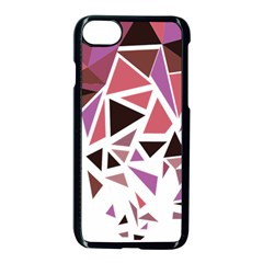 Geometric Elements Apple Iphone 8 Seamless Case (black) by AnjaniArt